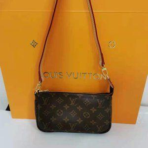 New LV women's Brown Shoulder Bag
